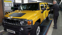 Hummer H3 Production Start in Russia
