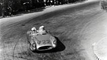 Moss and Jenkinson during the1955 Mille Miglia