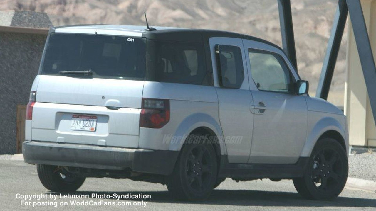 Spy Photos: 2007 Honda Element