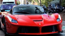 Ferrari LaFerrari cruising in Monaco is a pleasure to watch [video]