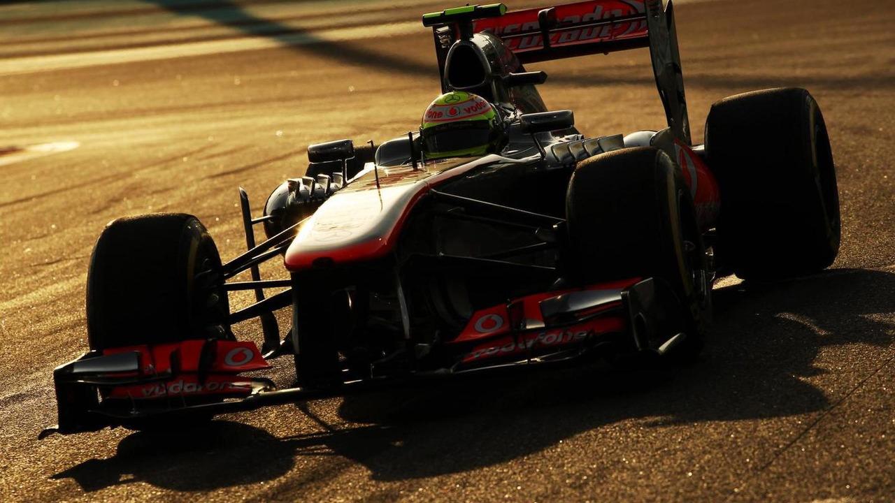 Sergio Perez MP4-28. 03.11.2013 Abu Dhabi Grand Prix