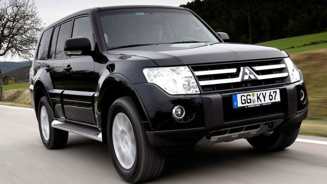All New Mitsubishi Shogun (UK)