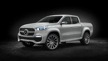 Classe X Concept - Mercedes donne dans le pick-up haut de gamme