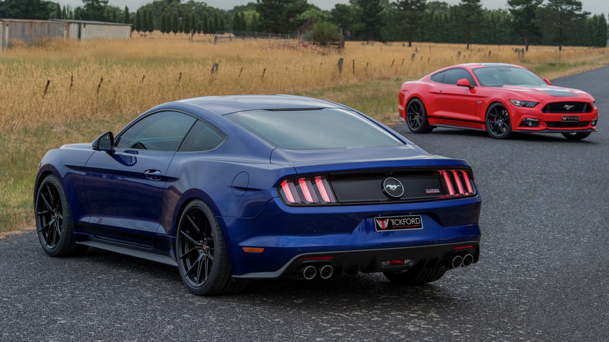 Ford Mustang power pack by Tickford is a kick down under