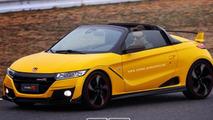 Honda S1000 Type R digitally imagined