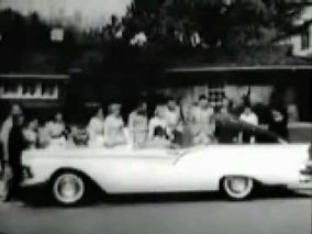 1957 Ford Skyliner Hideaway Hardtop Car Commercial