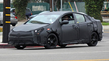 2016 Toyota Prius shows its sportier shape in the latest spy photos