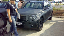 Mercedes GLK Spied at Prague airport
