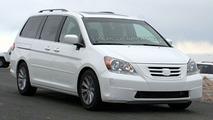 2008 Honda Odyssey Facelift Spotted