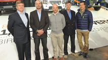 1,000,000th Land Rover Discovery w /  Ray Mears, Monty Halls, Ben Saunders, Sir Ranulph Fiennes, Bear Grylls 29.2.2012