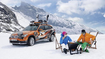 BMW Concept K2 Powder Ride
