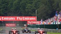 (L to R): Kimi Raikkonen, Ferrari SF16-H with team mate Sebastian Vettel, Ferrari SF16-H