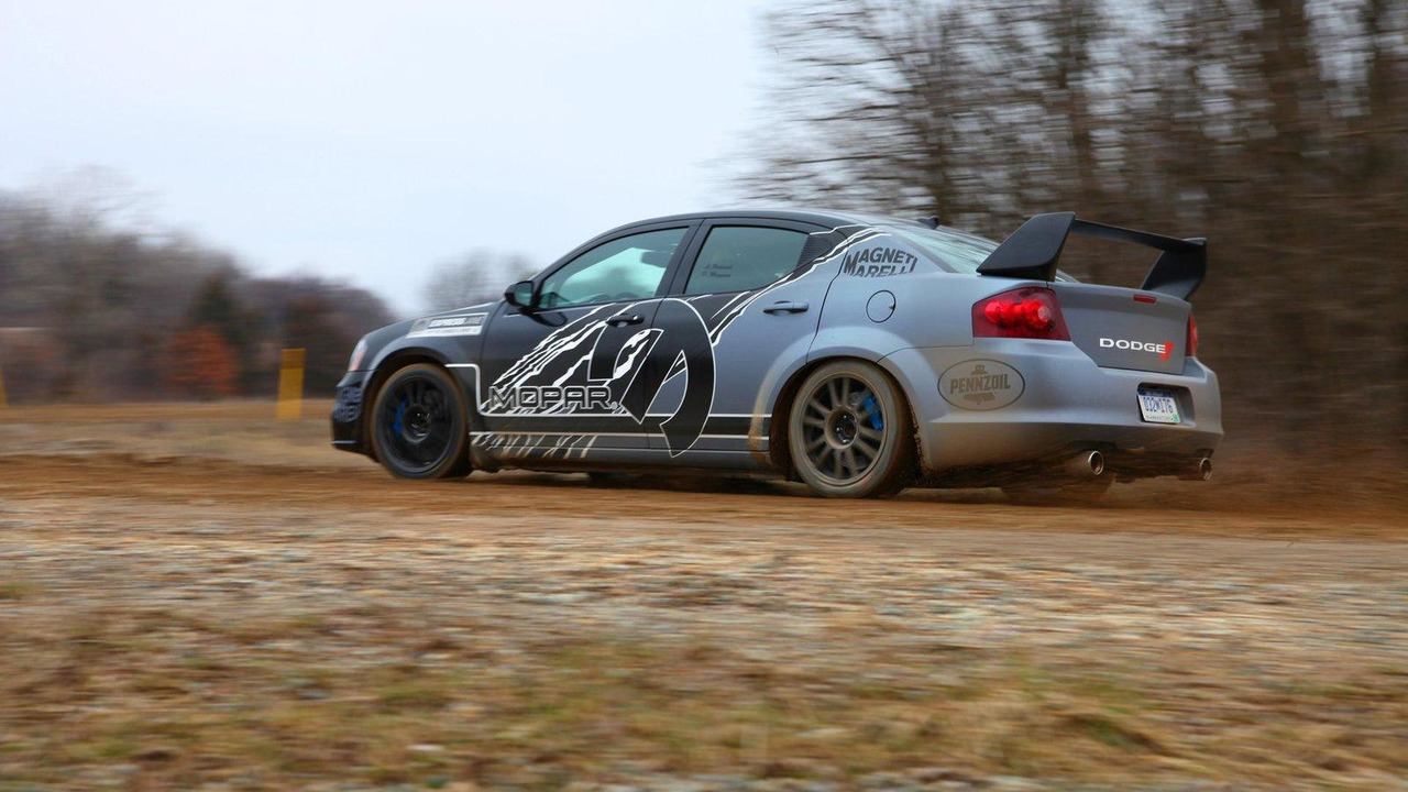 Mopar Avenger rally car for Magneti Marelli 13.04.2011