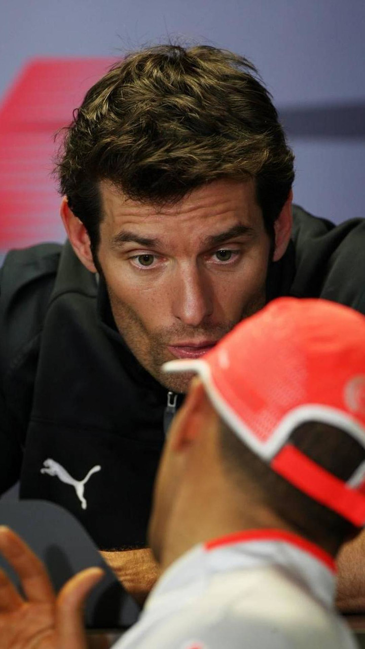 Mark Webber (AUS), Red Bull Racing, Lewis Hamilton (GBR), McLaren Mercedes, Australian Grand Prix, 27.03.2009 Melbourne, Australia