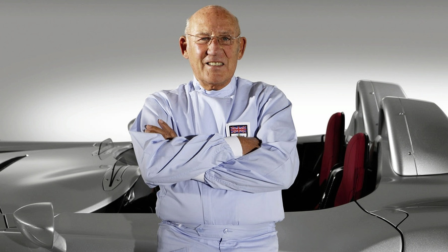 Stirling Moss in hospital after lift fall