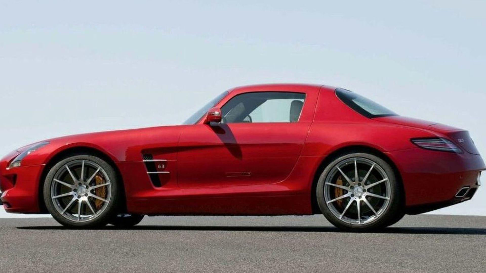 Mercedes-Benz baby SLS - new details