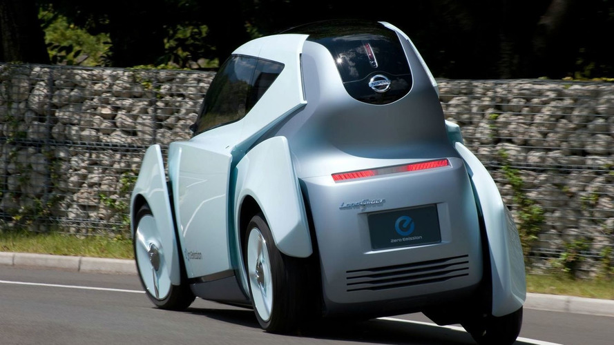Nissan Land Glider Concept Highlighted for Tokyo Motor Show