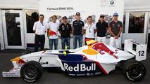 F1 drivers mark end of formula BMW series