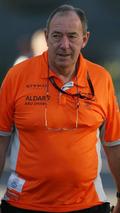 Ian Phillips, Grosjean, in paddock on Saturday