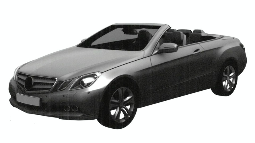 Mercedes E-Class Cabrio Designs Leaked