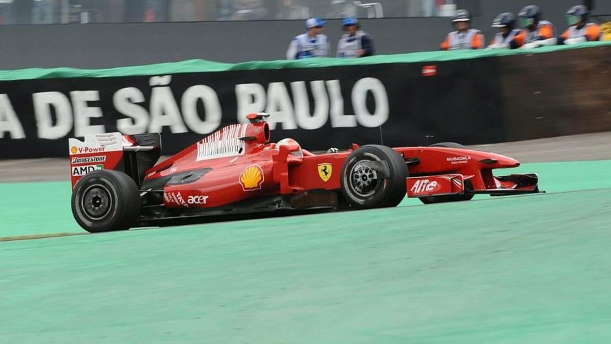 Ferrari slow in Brazil with eye on 2010