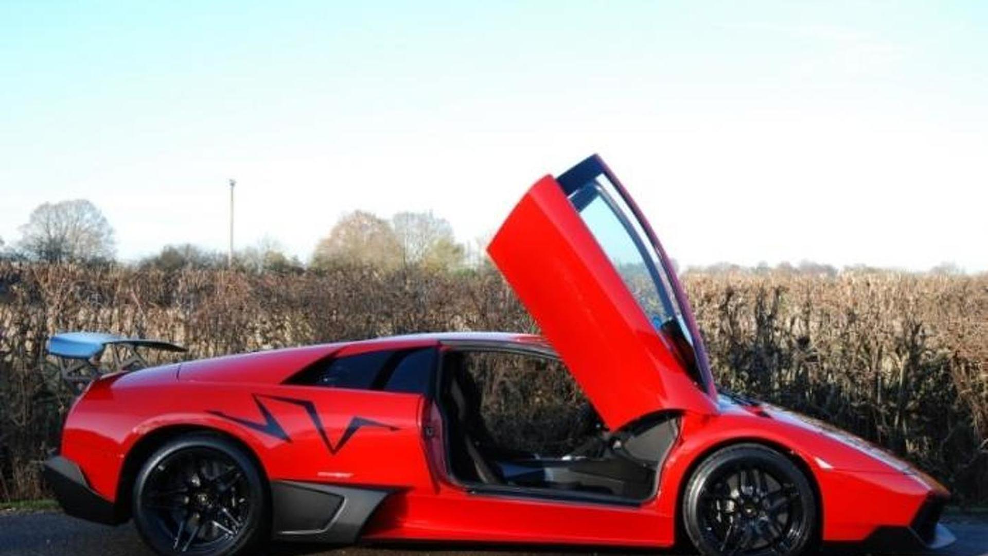 Low-mileage Lamborghini Murcielago SV Rosso Mars up for grabs in UK