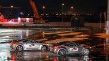Nissan sets new record for longest twin vehicle drifting [video]