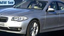 2014 BMW 5-Series facelift / Auto Zeitung