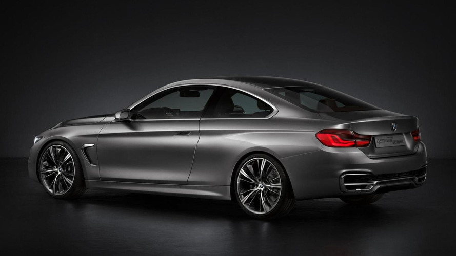 BMW 4 Series Coupe Concept (F32) leaked