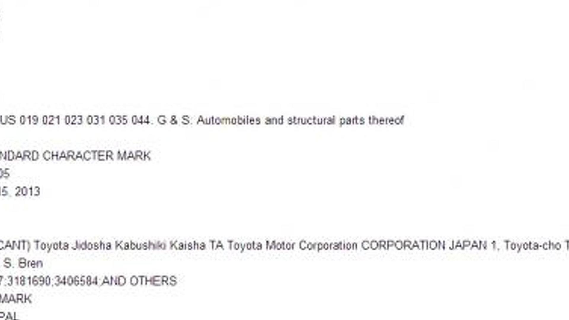 Lexus moves to trademark the GS F moniker