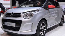 Second-gen Citroen C1 shows funky front in Geneva