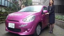 Mitsubishi Mirage Hello Kitty special edition 25.10.2013