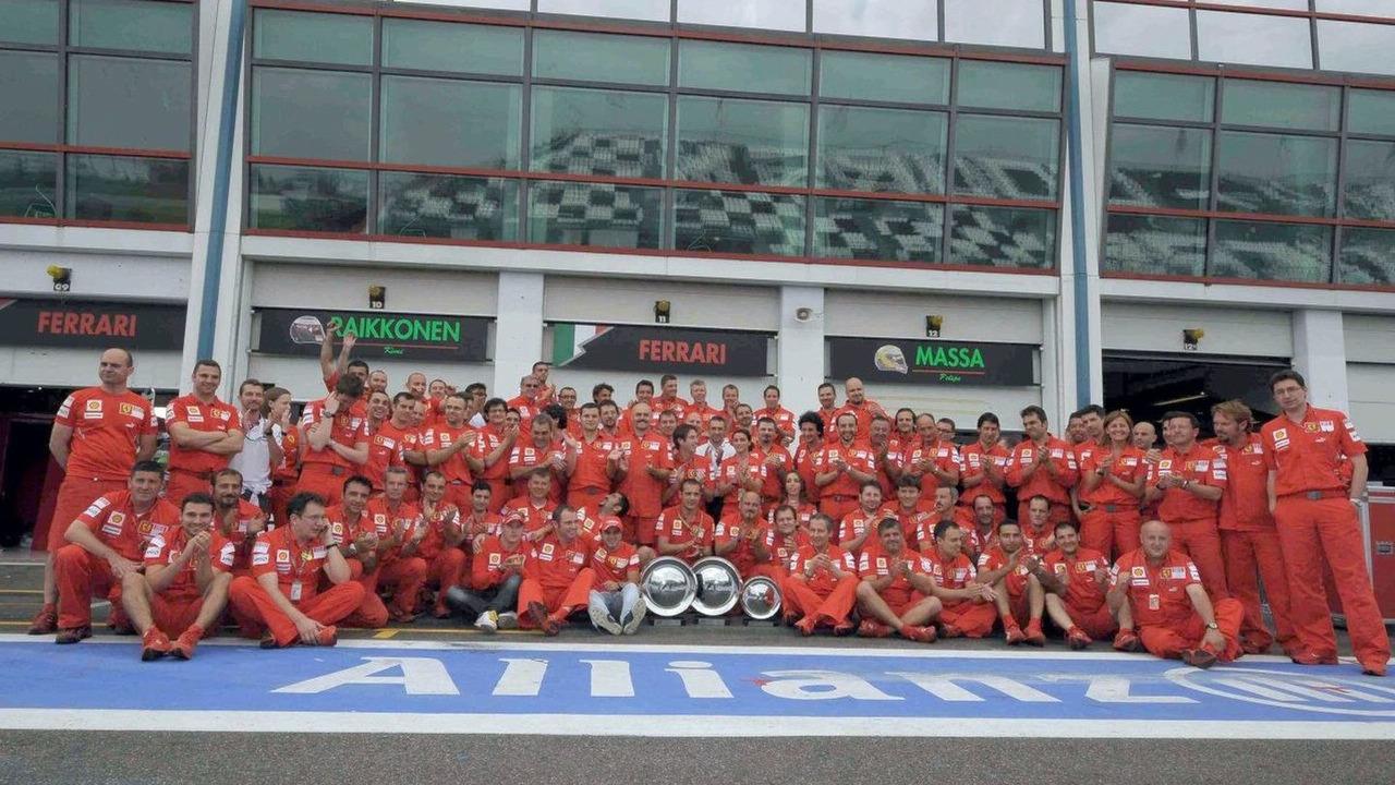 Ferrari team France 2008