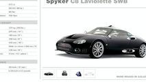 Spyker C8 Laviolette LWB to Debut at Geneva