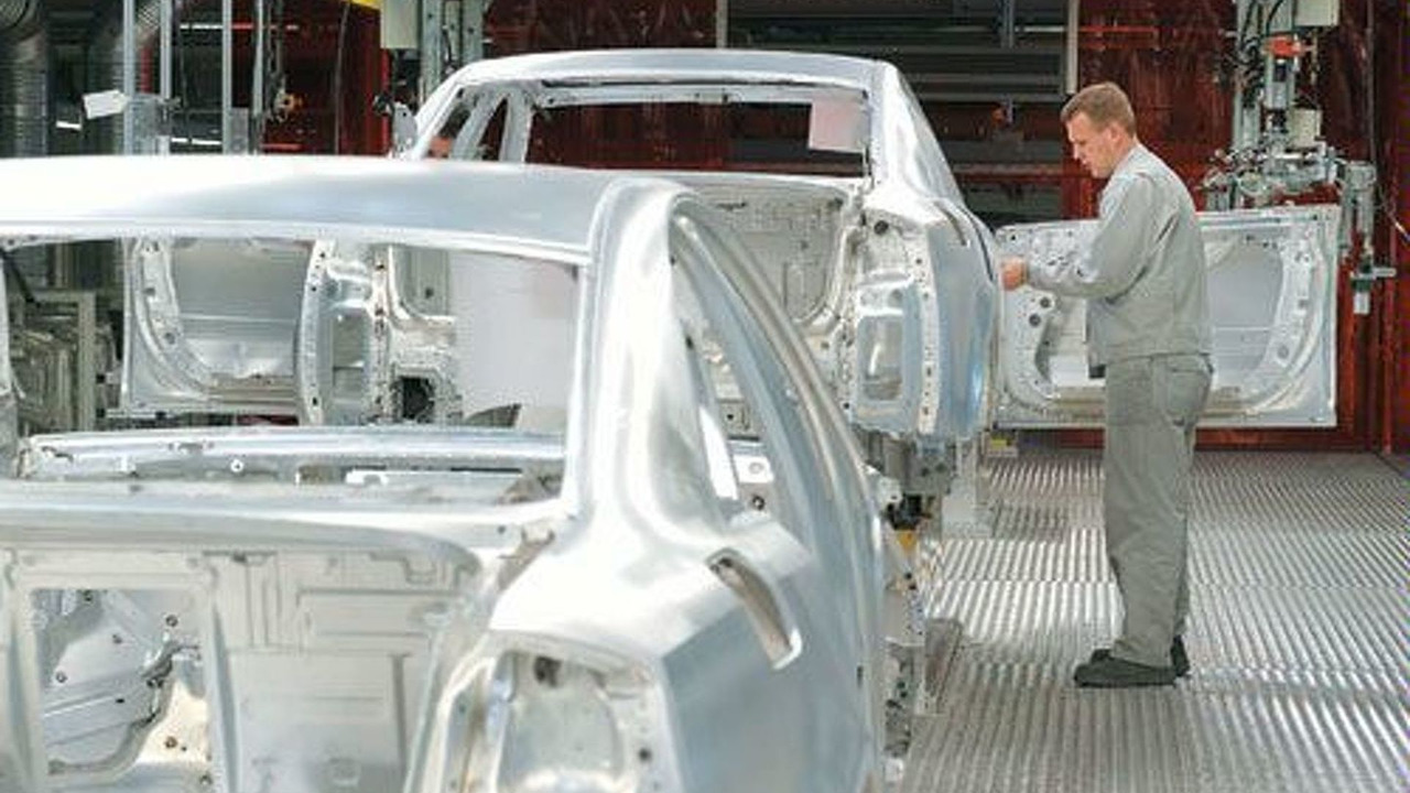 Body construction for the new Audi A8