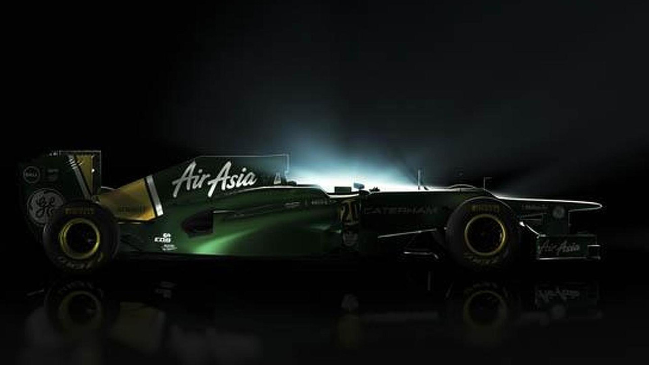 Caterham CT01, 567, 25.01.2012