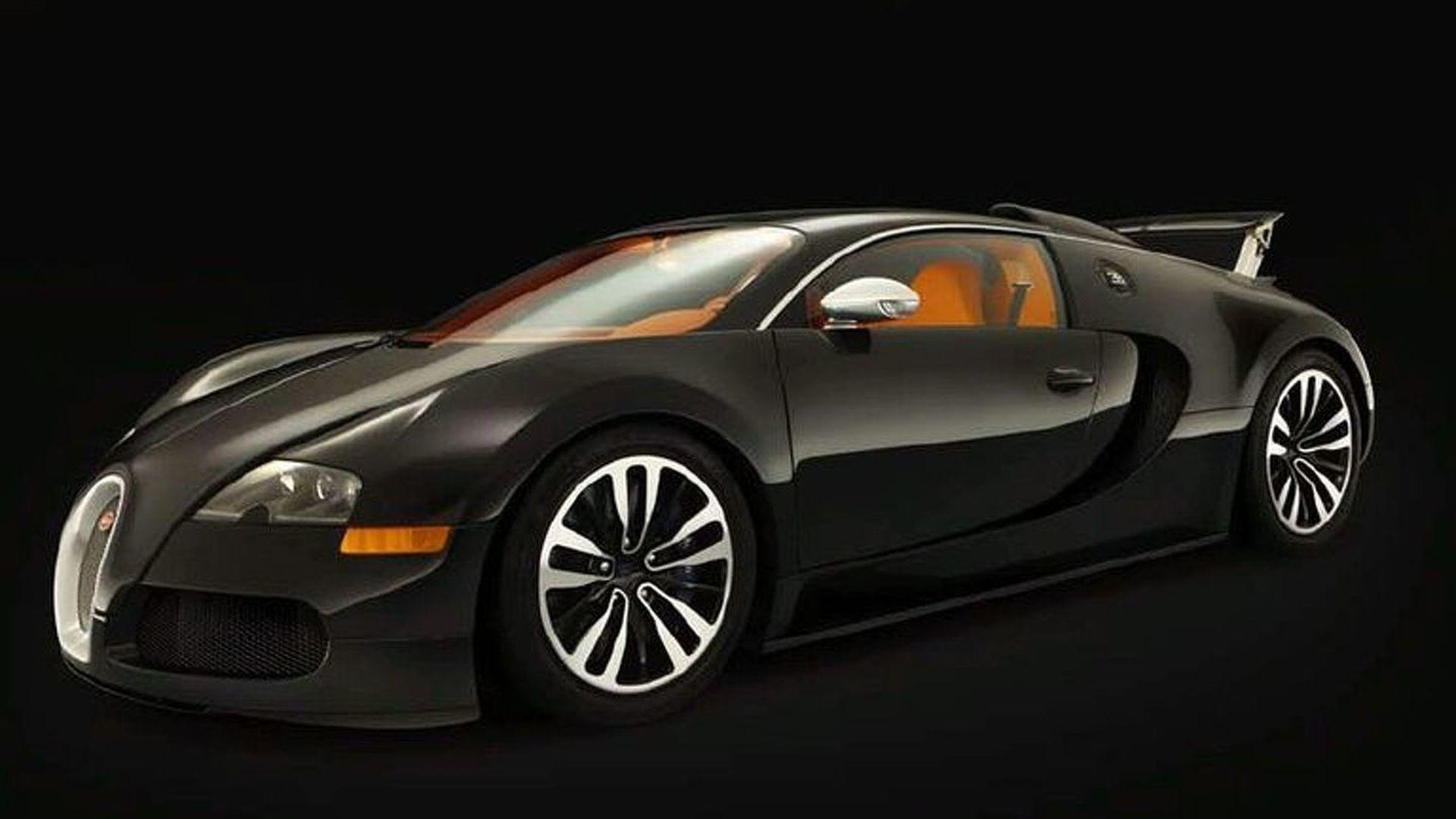 Bugatti Veyron Sang Noir Edition Revealed