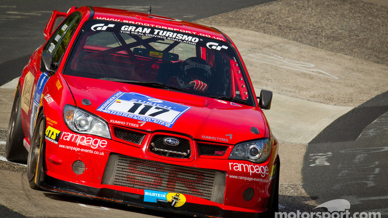 #117 SR Motorsport-Rampage Subaru Impreza: Martin Bailey, Mike Reedy, Ross Lilly
