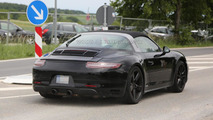 2016 Porsche 911 Targa GTS spy photo