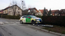 Google Maps Street View car crash