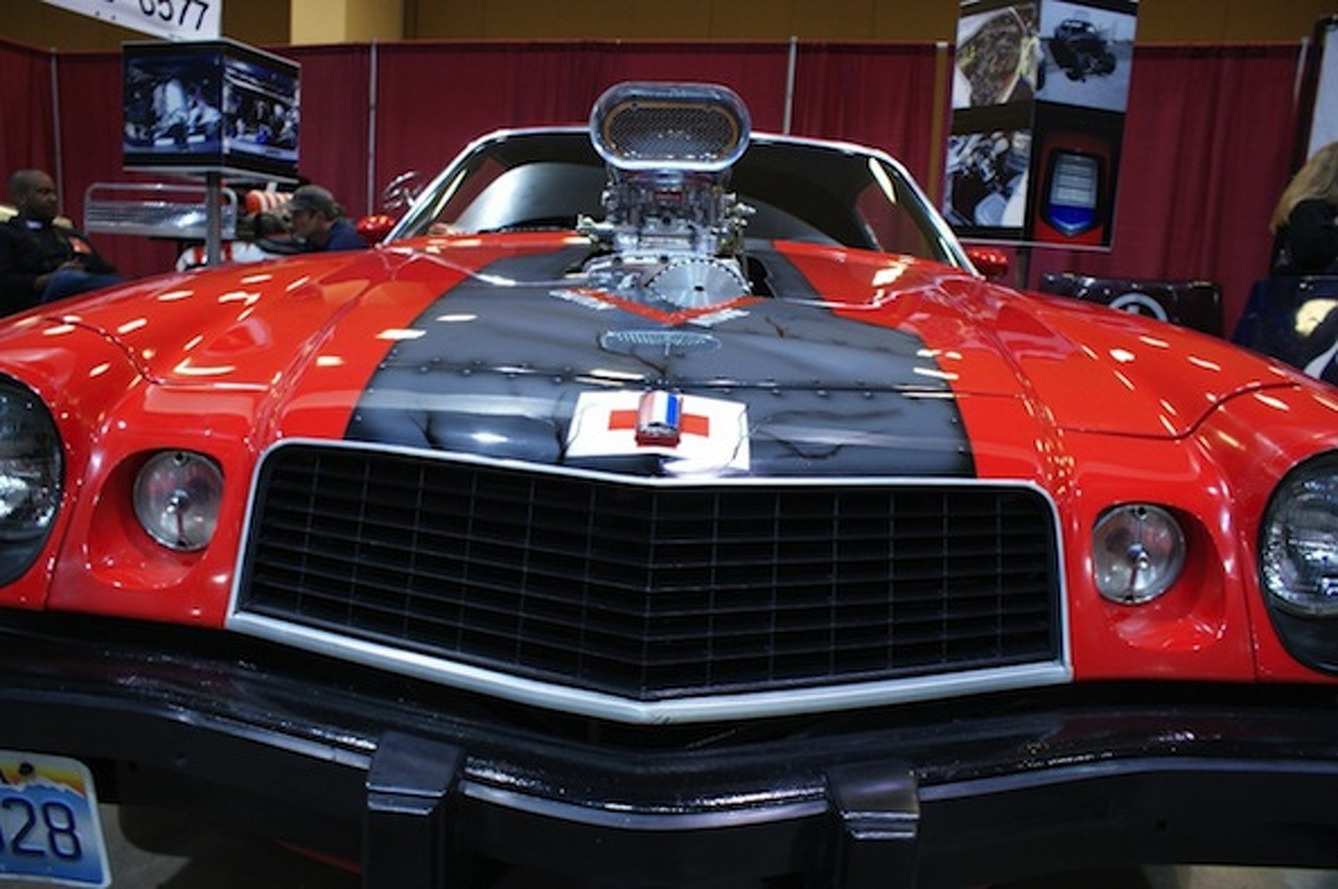 Your Ride: 1974 Blown Chevy Camaro with Medevac Theme