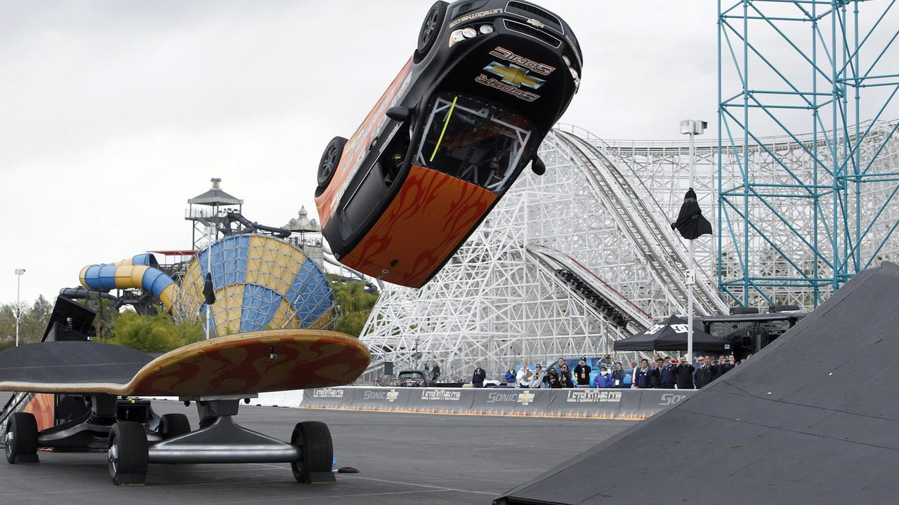 Rob Dyrdek Successfully Kick Flips All-New Chevy Sonic