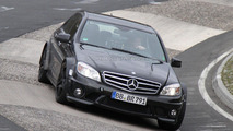 Mercedes-Benz C-Class Black Series mule Nurb. 06.04.2011