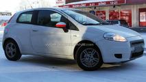 Fiat Grand Punto facelift spy photo