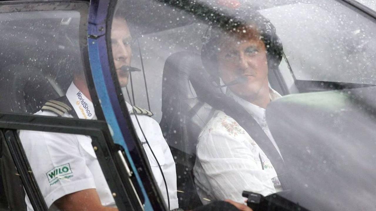 Michael Schumacher, Nazionali Piloti vs. VIP, Hockenheim 17.07.2008
