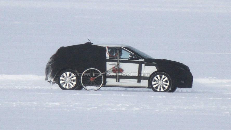 2012 Hyundai Veloster 5-door Spied Testing on Frozen Lake
