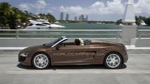 Audi R8 Spider Leaks ahead of Frankfurt Debut