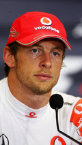 Button's mother caught up in hotel fire