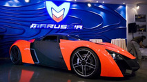 Marussia production begins; first show room opened in Moscow [video]