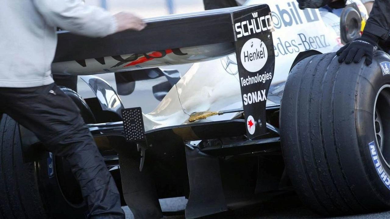 Pedro de la Rosa, ESP, Testdriver, West McLaren Mercedes, MP4-19, Modell 2004, Sponsor, Henkel - Circuito de Velocidad, Spain, 10.12.2003
